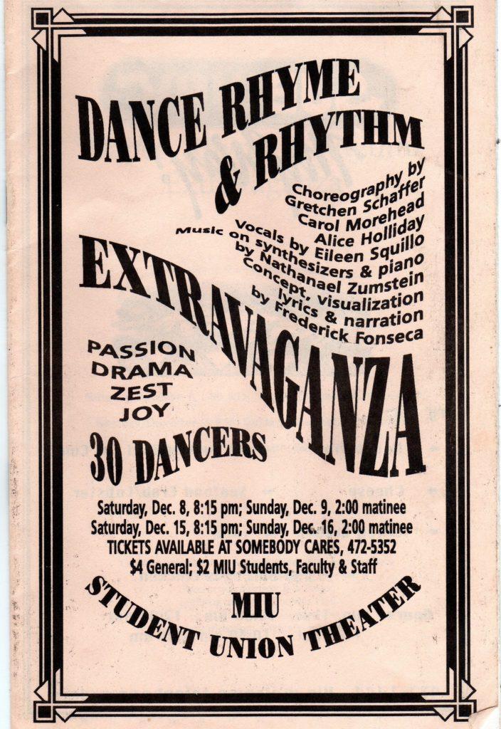 Dance Rhyme & Rhythm Extravaganza