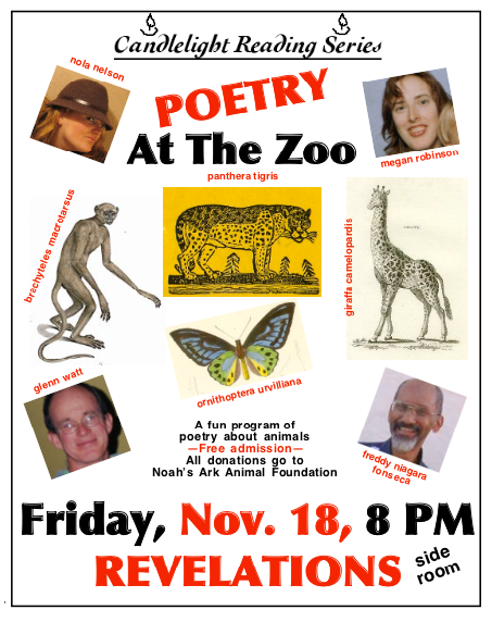audio, poetry at the zoo