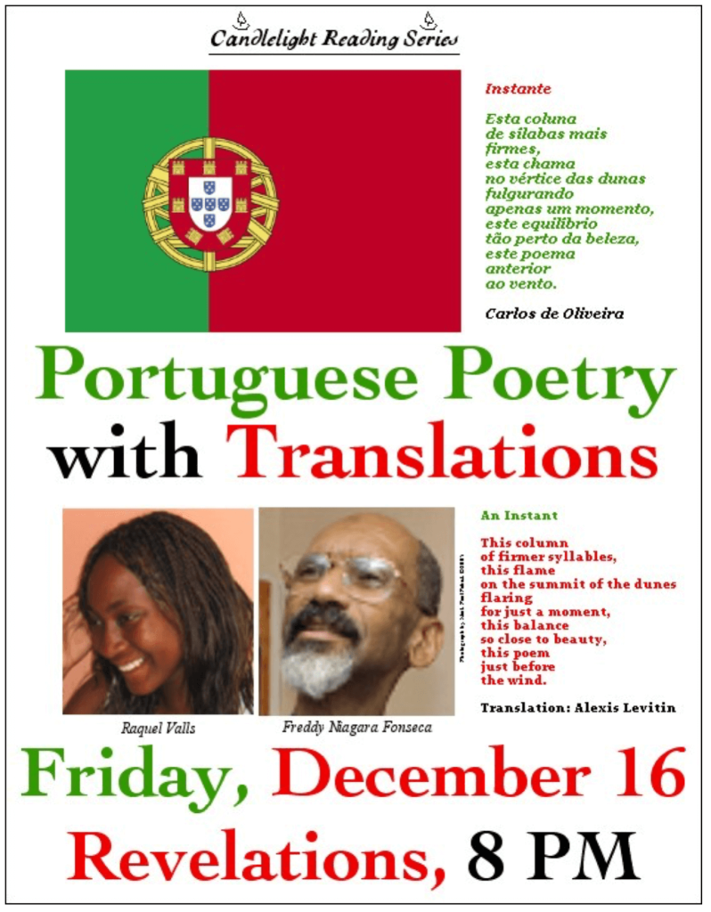 Portuguese Poetry with Translations. Audio