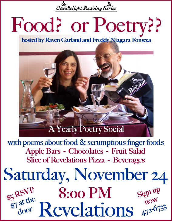 Audio, Poems about food