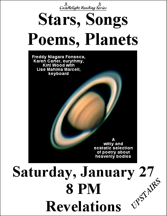 Stars, Songs, Poems, Planets