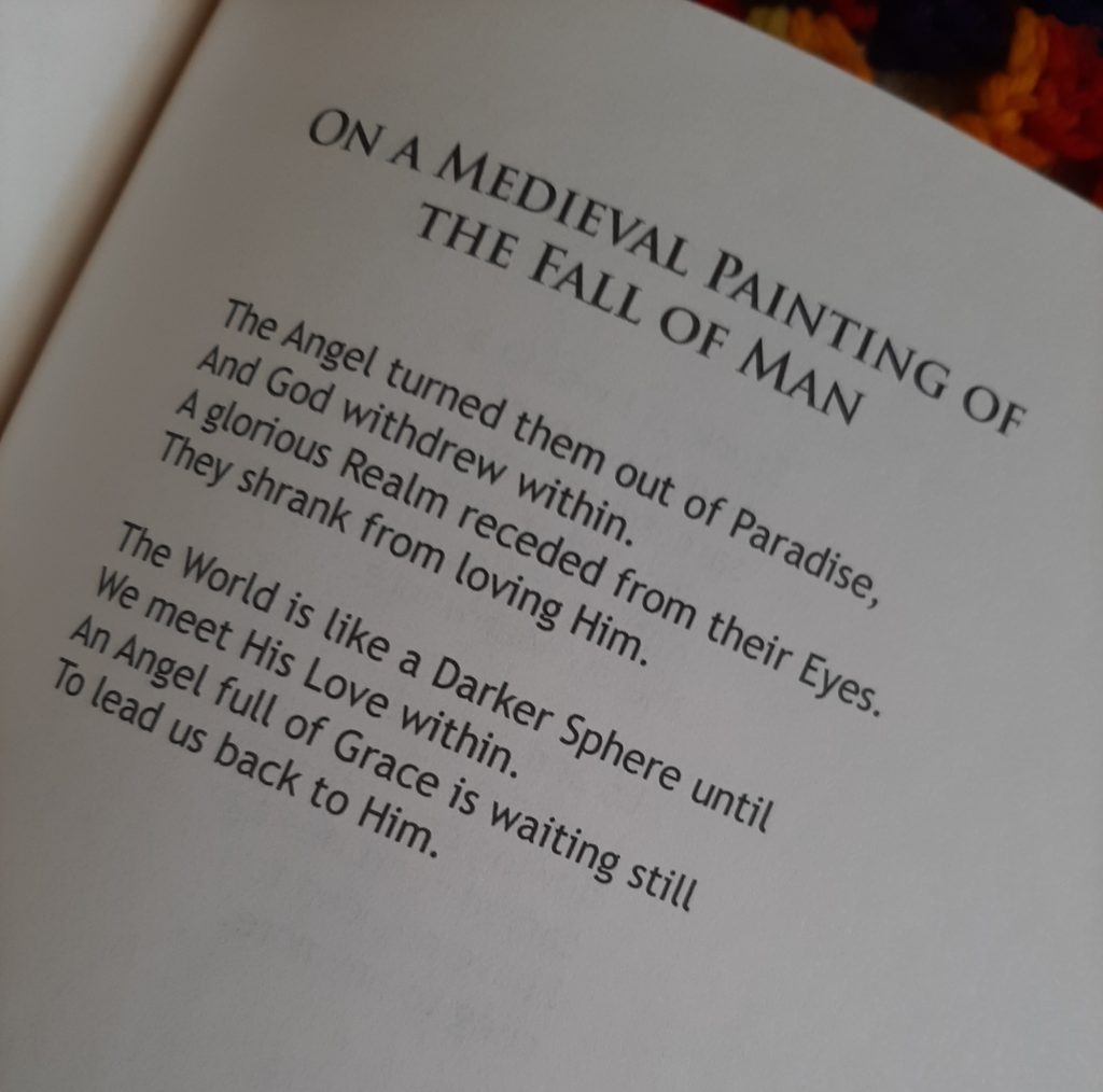 A page showing a poem from my book The Bomb That Blew Up God